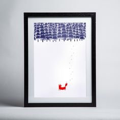 Robert Farkas - Alone In The Forest - Framed print Framed Art Prints, Home Improvement, Canvas, Home Decor, Tela, Decoration Home, Room Decor, Canvases, Home Repair
