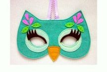 monkey felt mask - Google Search