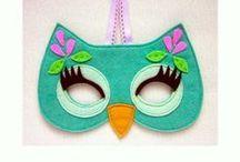 monkey felt mask - Google Search