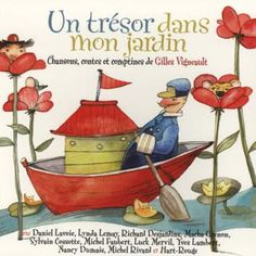 Un tresor dans mon jardin, various Quebec artists. Kids' music that parents will enjoy! - also available on iTunes or stream on Spotify Call And Response, Barnyard Animals, Find Music, Gilles, Music Online, Music Pictures, Music For Kids, Nursery Rhymes, Classical Music