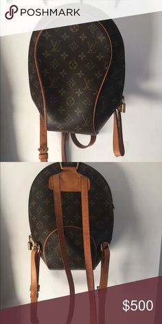 f2a66bfd1460 Shop Women s Louis Vuitton Brown size OS Backpacks at a discounted price at  Poshmark. Description  Cute