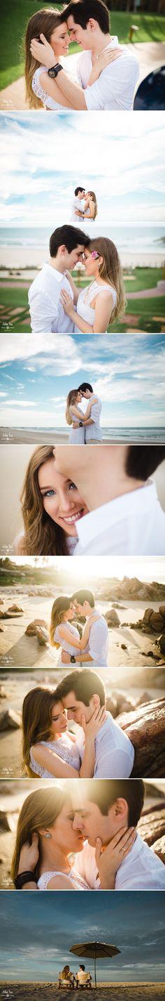 fotos de casal na praia carmel resort. Inspiração para fotografia pré-casamento.