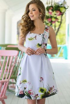 130e1e6af9a Gorgeous floral print dress perfect for the spring season! ! ad Viscose  Fabric