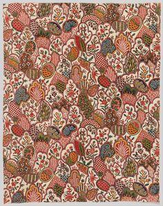 heaveninawildflower:  Textile design, circa 1792 by Oberkampf & Cie. (1758 - 1815). Cooper–Hewitt, National Design Museum Google Art Pr...
