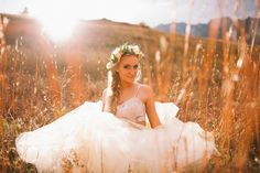 BRIDE CHIC: A STYLED SHOOT IN THE MOUNTAINS//Ashlee Crowden Photography.