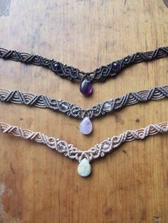 These macrame designs are awesome!