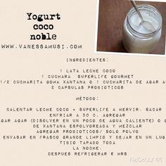 Mi yogurt vegano de coco!