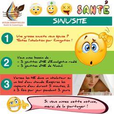 Soigner une sinusite par inhalation