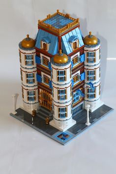Lego MOC: Palace | Flickr - Photo Sharing!