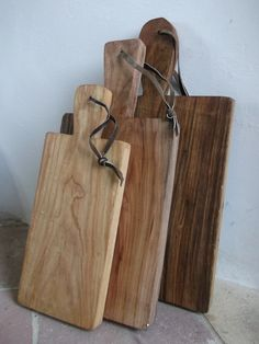 ONE Handmade French Style Wooden Cutting Board / Chopping Block