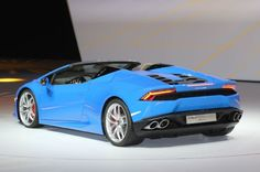 Lamborghini Huracan Spyder Rear Three Quarter 03