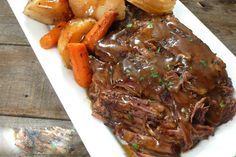 """Slow Cooker """"Melt in Your Mouth"""" Pot Roast :http://recipescool.com/slow-cooker-melt-mouth-pot-roast-2/"""