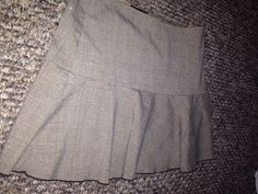 Brown Mini Skirt by A. Byer  #AByer #Mini