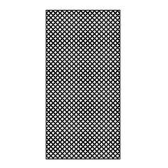 Treilis en PCV 4 pi x 8 pi, noir