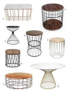 Trend Alert: Wire Tables