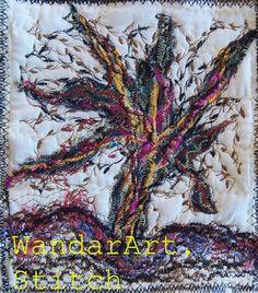 WandarArt.Stitch: Free motion embroidery , nature ........