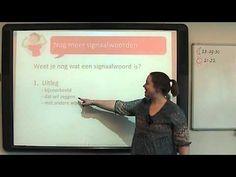 ▶ Begrijpend Lezen: nog meer signaalwoorden - YouTube