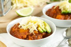 Crockpot Sweet Potato Chili | GI 365