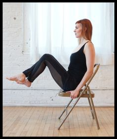 Sadie Nardini's Top 5 Chair Yoga Poses for Strength