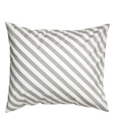 Check this out! Pillowcase in cotton fabric with a printed pattern. Thread count 144. - Visit hm.com to see more.