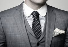 cub collar / men's style