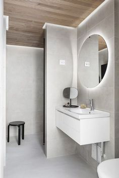Minna Jones: styling for Blau Interior Restroom Design, Bathroom Interior Design, Bathroom Toilets, Laundry In Bathroom, Helsinki, Contemporary Baths, Lets Stay Home, Bathroom Design Inspiration, Home Spa