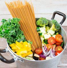 #Vegan One Pot Spaghetti with Vegetables
