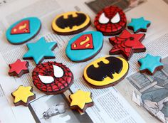 Galletas superhéroes
