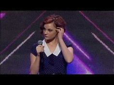 "Bella Ferraro - X Factor Australia 2012 sings Bon Iver's skinny love"" (Birdy version) at 18 after dropping out of high school with no back up plan ; )"