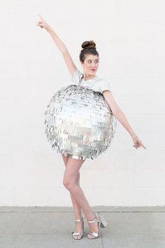 DIY Kostüm: Diskokugel