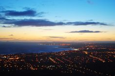 Nothing beat watching the sunrise from the top of Arthur's Seat.