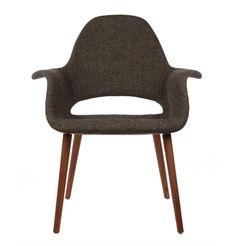 The Matt Blatt Replica Eames/Saarinen Organic Chair by Charles and Ray Eames - Matt Blatt