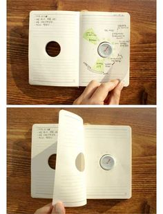 I love this idea. Could use as a planner or a diary! It could improve memory too, I'm thinking, if used as a diary. Filofax, Mind Maps, Yanko Design, Co Working, Cool Inventions, Getting Organized, Good To Know, How To Plan, How To Make