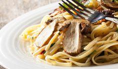 tagliolini ai porcini - pasta with mushrooms  http://www.venetoesapori.it/it/protagonista/da-cirillo #food #italy #veneto #tastes #sapori #vicenza #typical #pasta #funghi #mushrooms