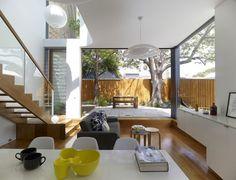 Casa em Sydney, na Austrália   projeto do arquiteto Christopher Polly