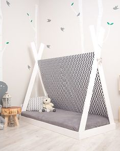 Toddler Bed, Sweet Home, Furniture, Home Decor, Child Bed, Decoration Home, House Beautiful, Room Decor, Home Furnishings