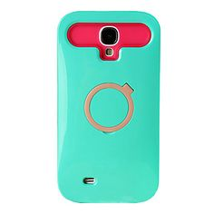 Lovely Hard Plastic Case with Circle Back Support for Samsung Galaxy S4 i9500