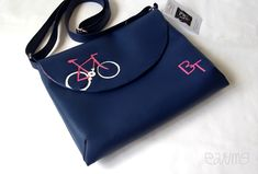 Special one with own monogram for Blanka Heart Of Europe, Bag Accessories, Bicycle, Monogram, Shoulder Bag, Handbags, Fashion, Moda, Bike