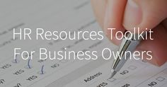 A human resources toolkit that includes All the checklists, templates, best practices, and forms you need to manage employees at your business.