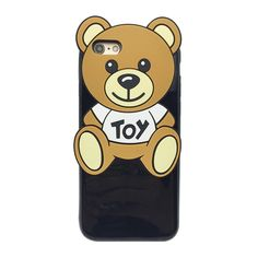 For iphone 6 case siliconetoy Teddy bear 6splus cute cartoon cover Strap soft shell Girl student girls gift DESALAN   iPhone Covers Online