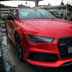 Repost via Instagram: Audi RS7   Follow @excessivexotics   Photo @sabguae  by audi_247