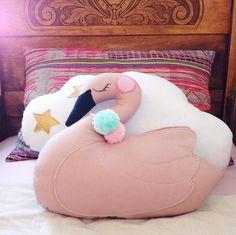 Image of Sleeping Swan Pillow