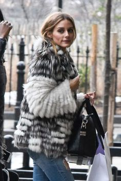 Olivia Palermo Arriving To Her Apartment In New York