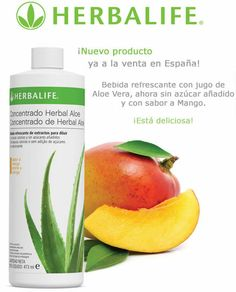 Bebida Herbalife Herbal Aloe con Sabor a Mango
