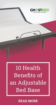 The 10 Health Benefits of an Adjustable Power Base  #adjustable #powerbase #backpain #sleep #sleeping #sleepy #bedroom #furniture #tech #aches #spine #alignment #sciatica #healthy #healthyliving #homeopathic #sleepapnea #asthma #snoring #acidreflux #heartburn #digestion #insomnia #circulation #bloodflow #arthritis #pain #stiffness #massage #swelling #recliner #breastfeeding #ghostbed #mattress #health #wellness #bed #backpain #pregnant #expecting #memoryfoam #decor #bedframe #headboard