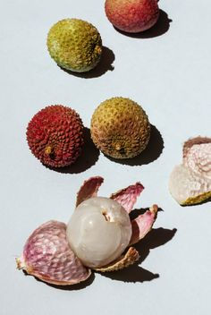 fruit, the lychee. #inspiration #texture