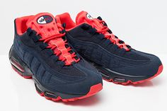NIKE AIR MAX 95 (NAVY/RED) - Sneaker Freaker