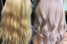 Classic Blonde To Pale Pink Champagne | Modern Salon