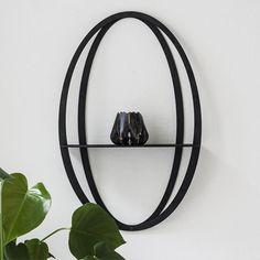 Halo shelf - Black