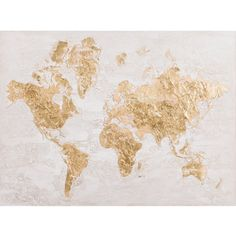 Yosemite Home Decor Map in Gold Wall Art | Hayneedle Bedroom Wall Collage, Photo Wall Collage, Picture Wall, Collage Walls, Cream Aesthetic, Gold Aesthetic, Apollo Aesthetic, Aesthetic Collage, Gold Map